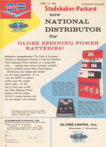 Studebaker-Packard Deal