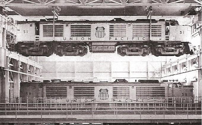Union Pacific Locomotive 1955