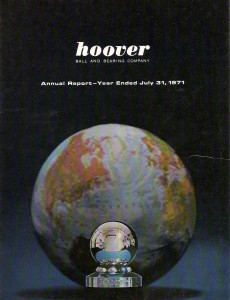 Hoover Cover 1971