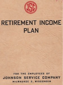 Retirement Plan 1944