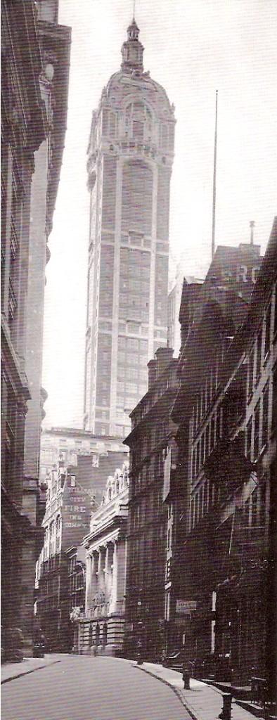 Singer Building 1908