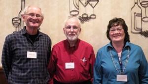Bill Hable, Ken Davis, Judy Pederson
