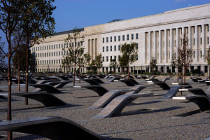 The Pentagon Memorial, September 2008 U.S. Navy Photo by Mass Communication Specialist 1st Class Brien Aho