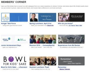 Front Page-Members Corner