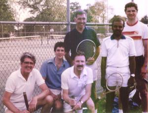 JCI Tennis Team, 1984